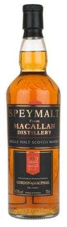 Macallan Scotch Single Malt 21Year 1990 Speymalt Bottled By Gordon & Macphail